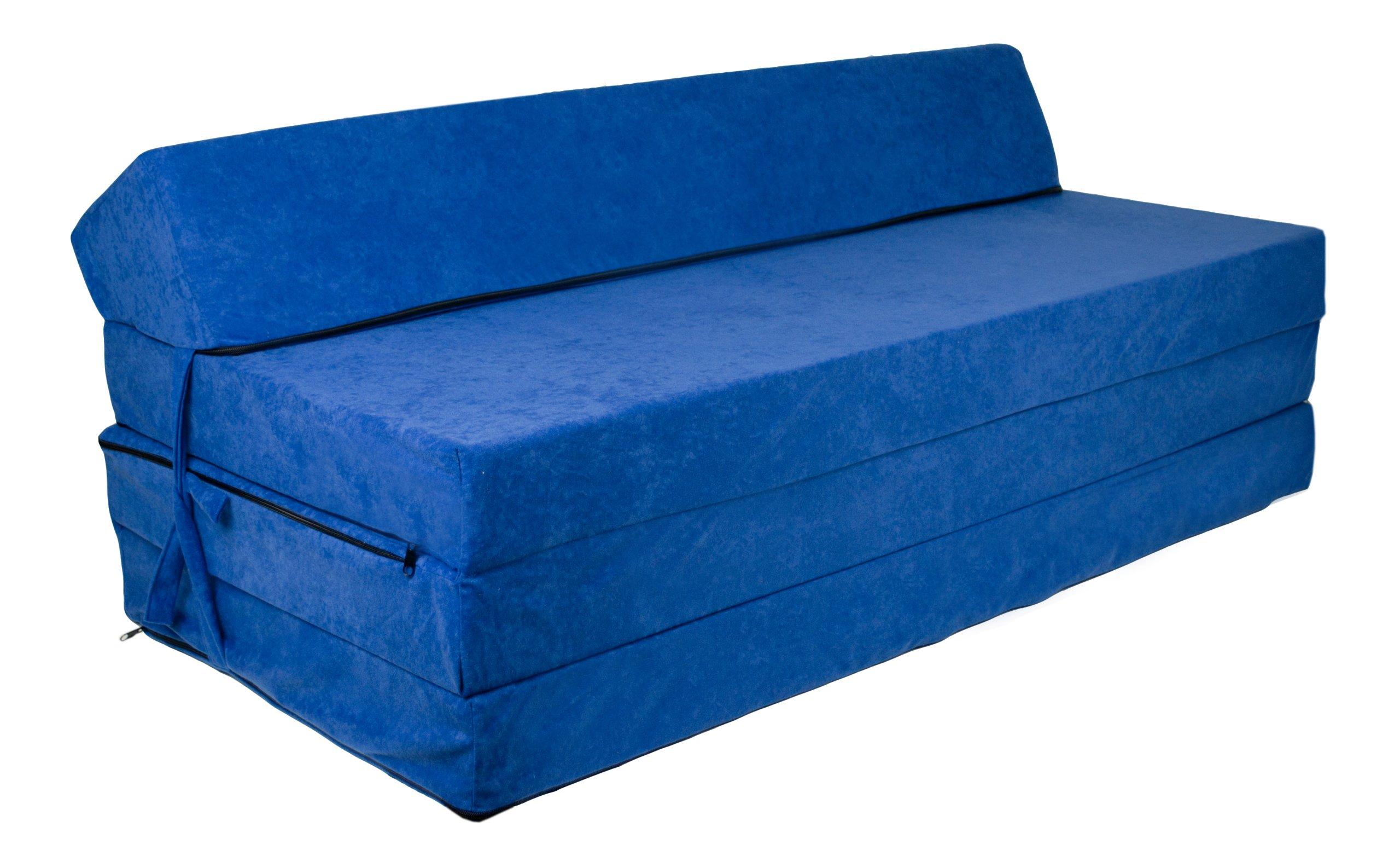 FIMEX Rozkládací matrace EVA VZOR: tmavě-modrá