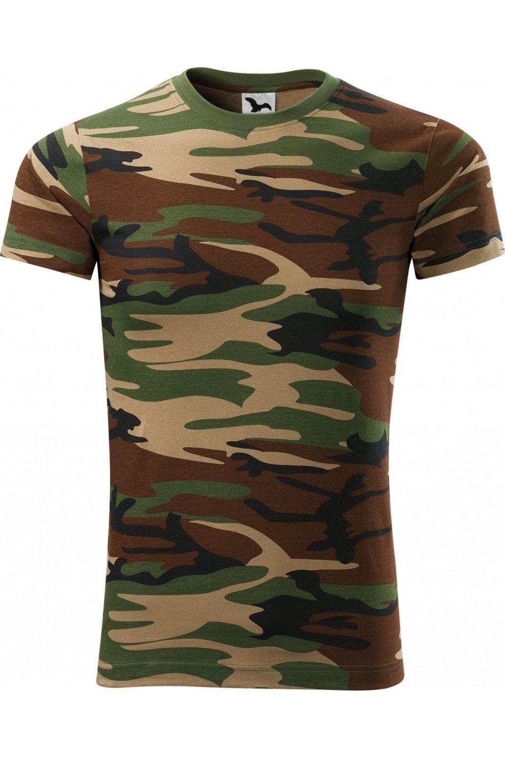 Camouflage 144 Tričko unisex, Adler Malfini