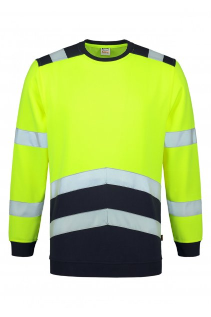 Sweater High Vis Bicolor T40 Mikina unisex, Adler Tricorp