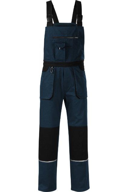 Woody WX2 Pracovní kalhoty s laclem pánské