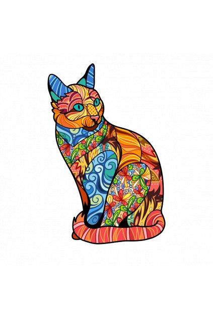 kočka mandala