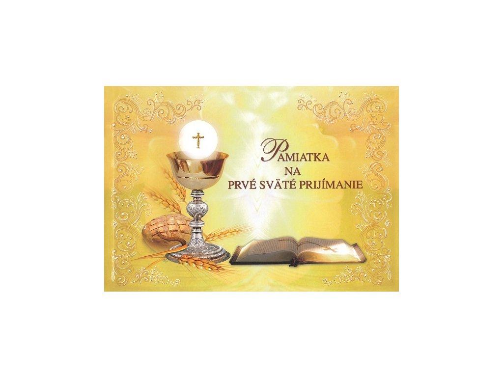 pamiatka na prve svate prijimanie zaex 3.vydanie