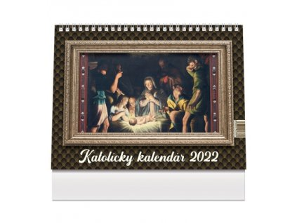 Katolícky kalendár stolový 1