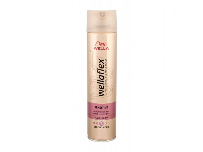 Wellaflex Sensitive lak na vlasy 250ml