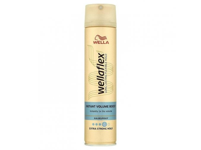 Wellaflex Instant Volume Boost lak na vlasy 250 ml