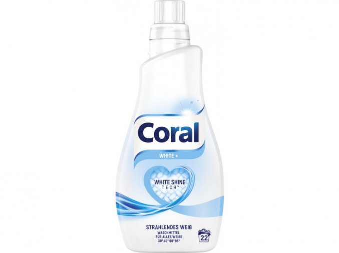 6060 coral optimal white praci gel na bile pradlo 1 1 l 22 davek
