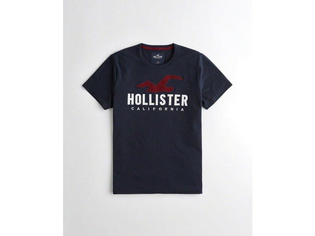 Pánské tričko Hollister s nášivkou