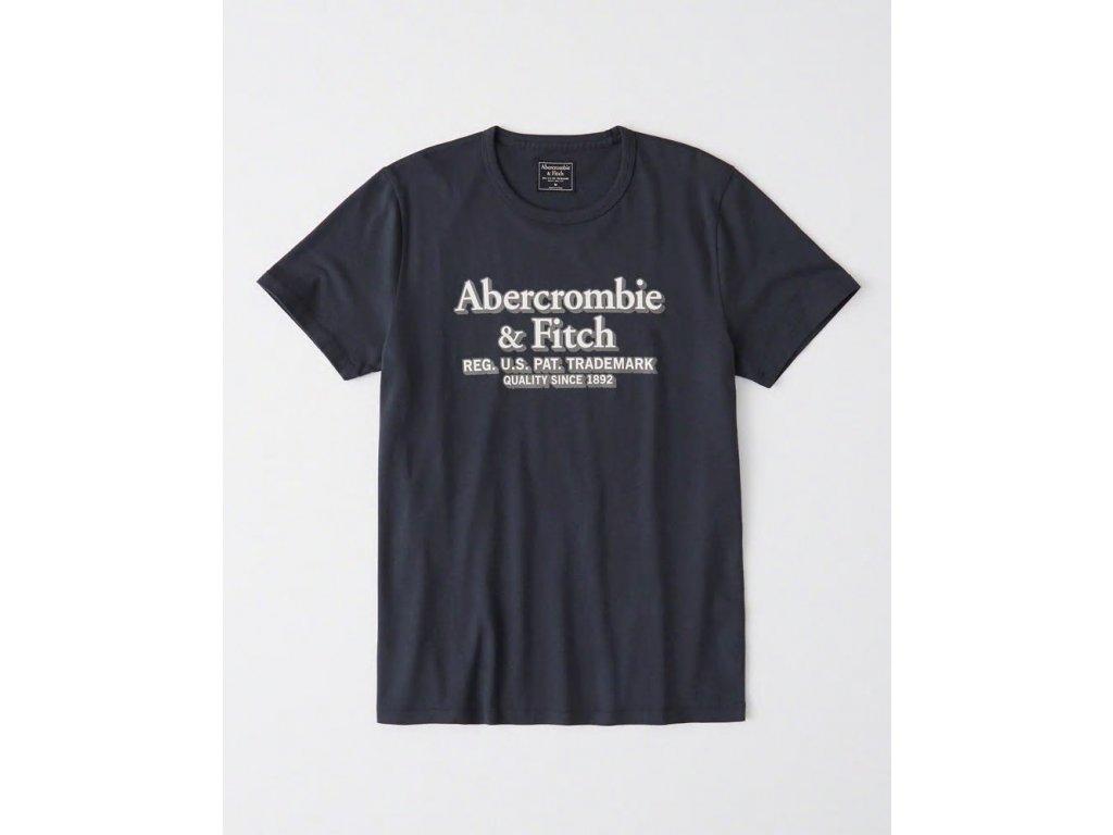 Abercrombie & Fitch pánské tričko s logem new