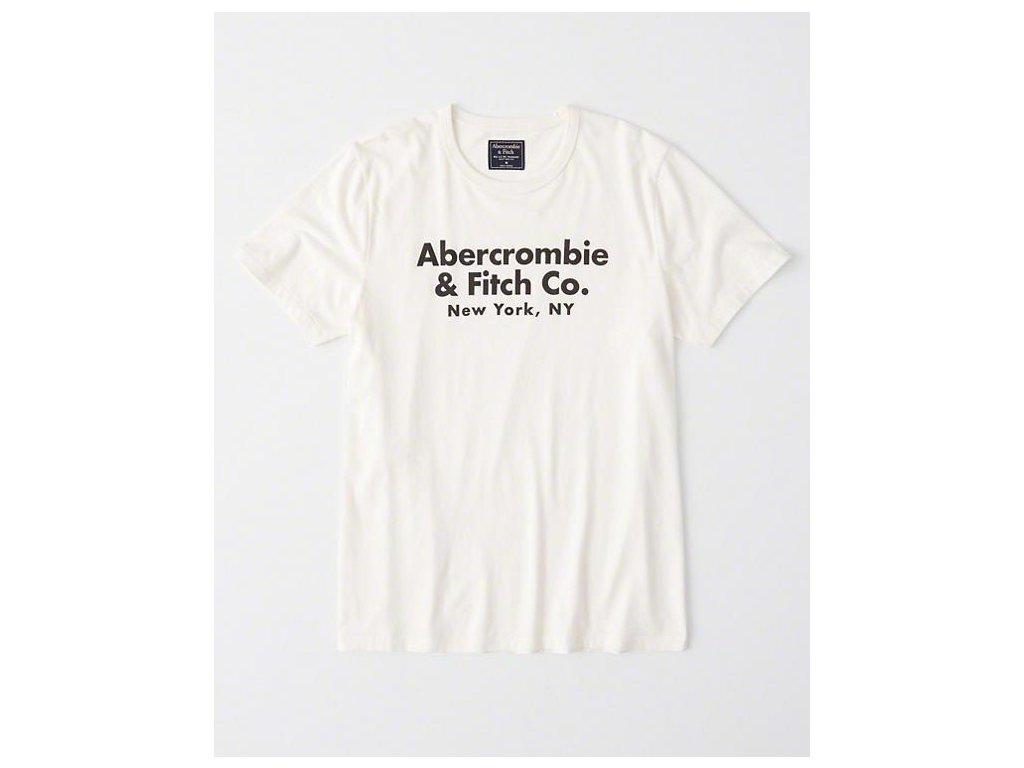 Abercrombie & Fitch pánské tričko s logem