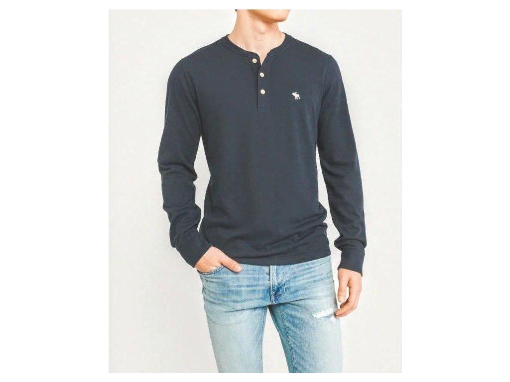 Abercrombie & Fitch pánské tričko henley