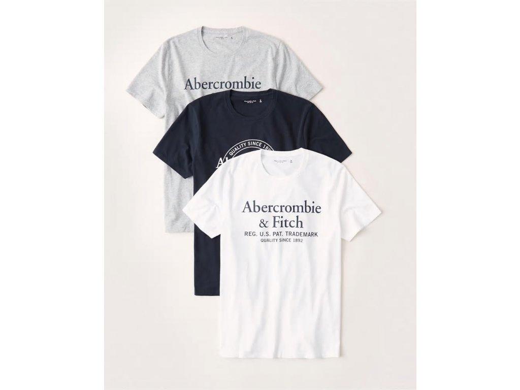 Abercrombie & Fitch dárkový set pánských triček