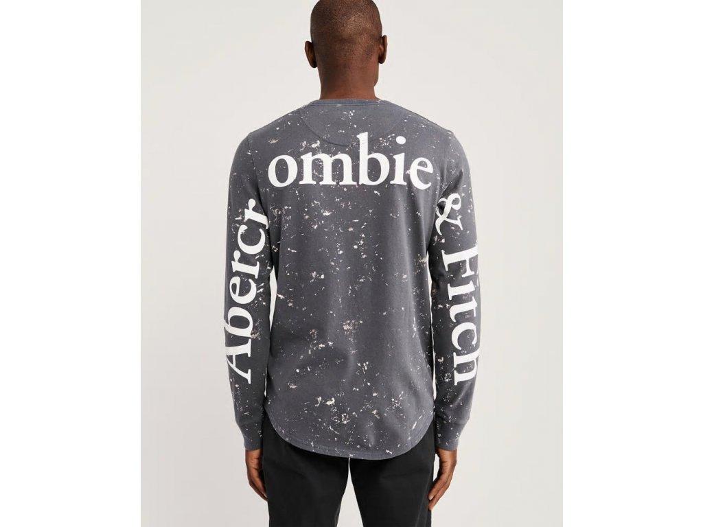 Abercrombie & Fitch pánské tričko dlouhý rukáv