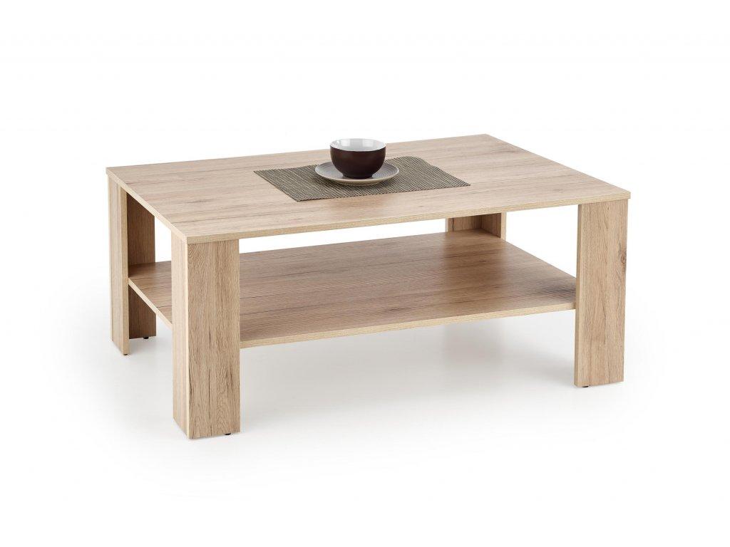 KWADRO c. stůl, barva: dub san remo