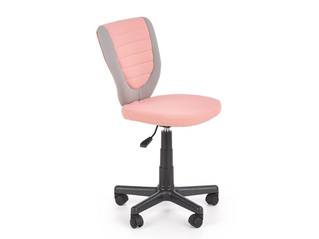 Toby dětská židle růžová