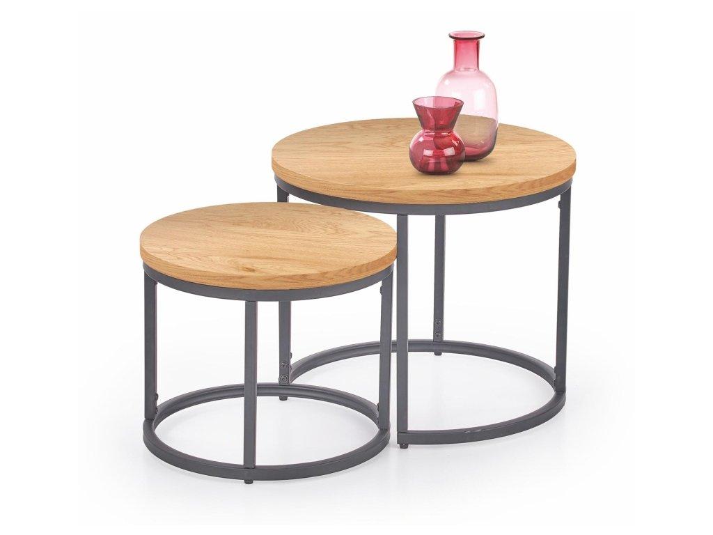 Oreo konferenční stolek dub zlatý