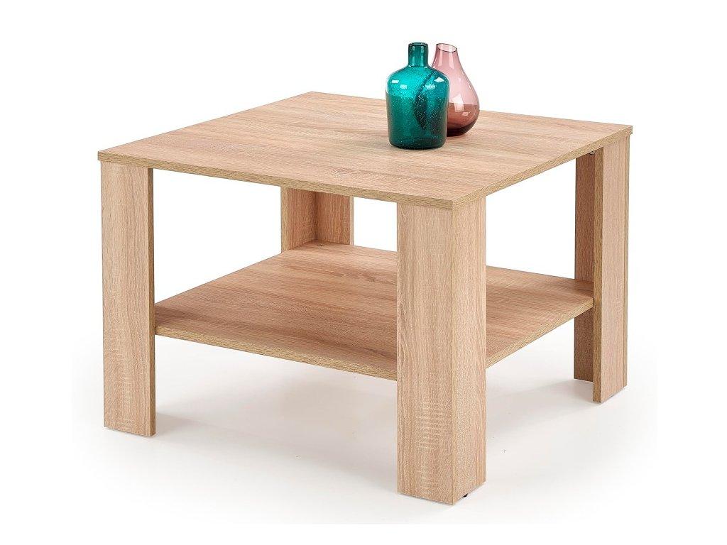 Kwadro kwadrat konferenční stolek dub sonoma