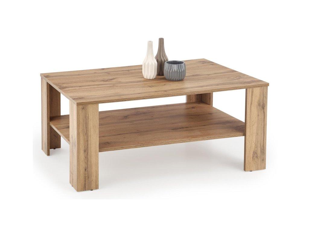 Kwadro konferenční stolek dub votan