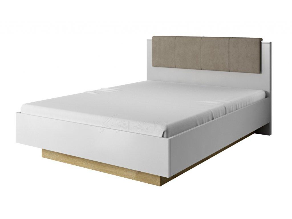 Arko postel 160 bílá lesk