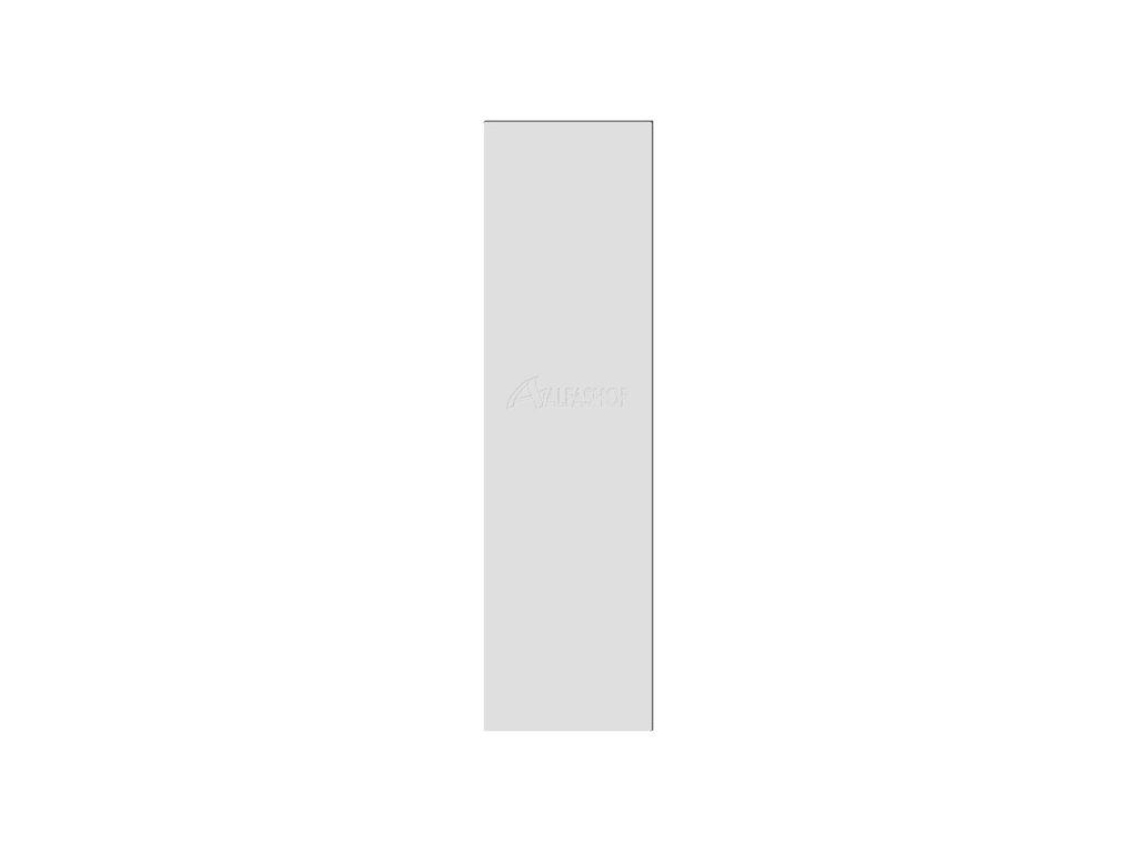 Zoya šedá boční panel 203x56