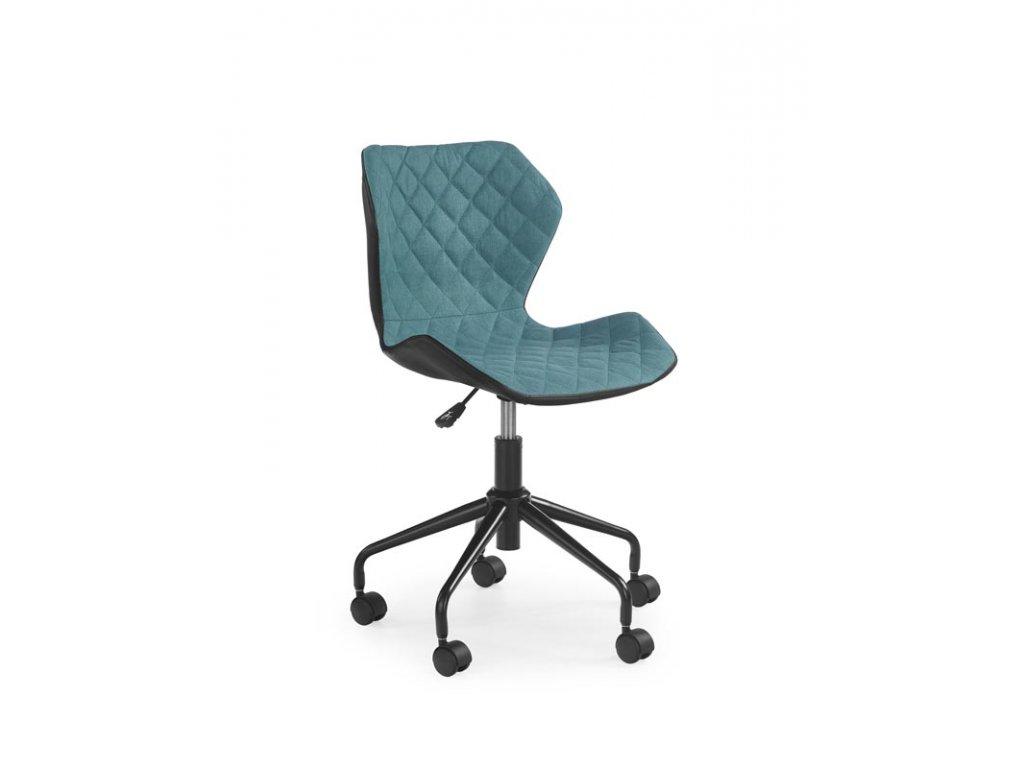 Matrix dětská židle tyrkysová