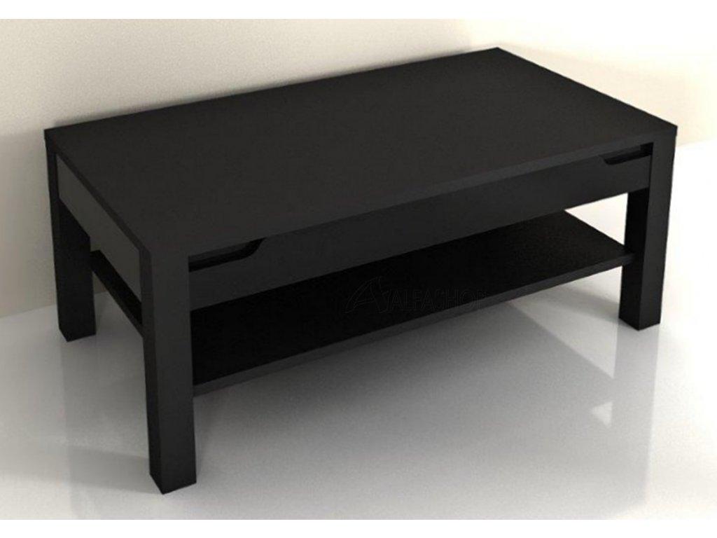 Alaska černá konferenční stolek