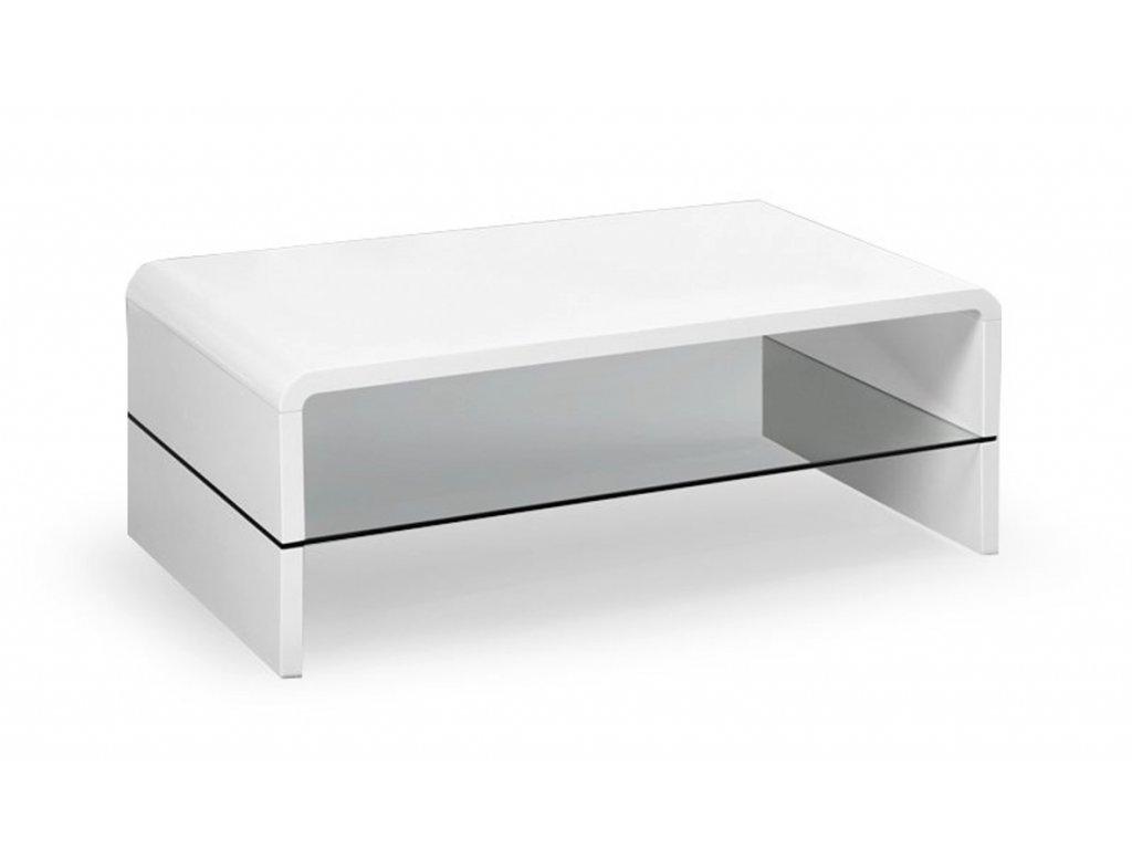 Claudia konferenční stolek bílý