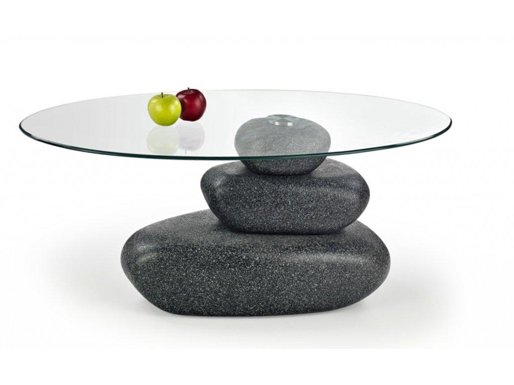 Flavia konferenční stolek šedý