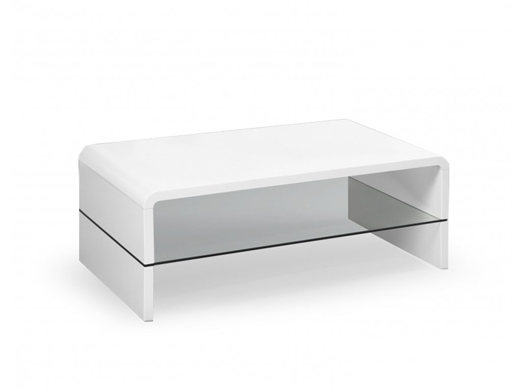 Konferenční stolek CLAUDIA barva: bílá