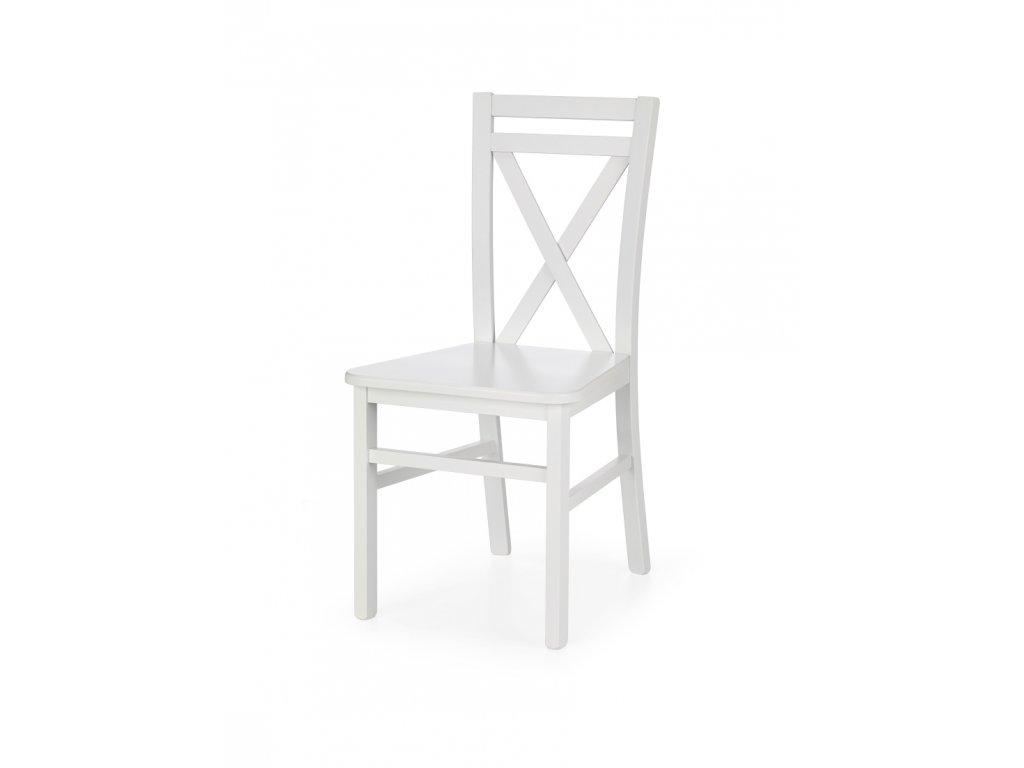 Dariusz 2 židle bílá