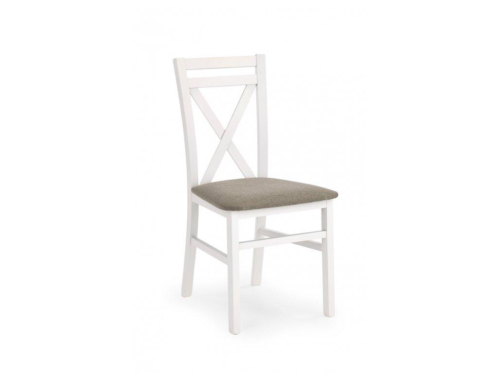 Dariusz židle bílá