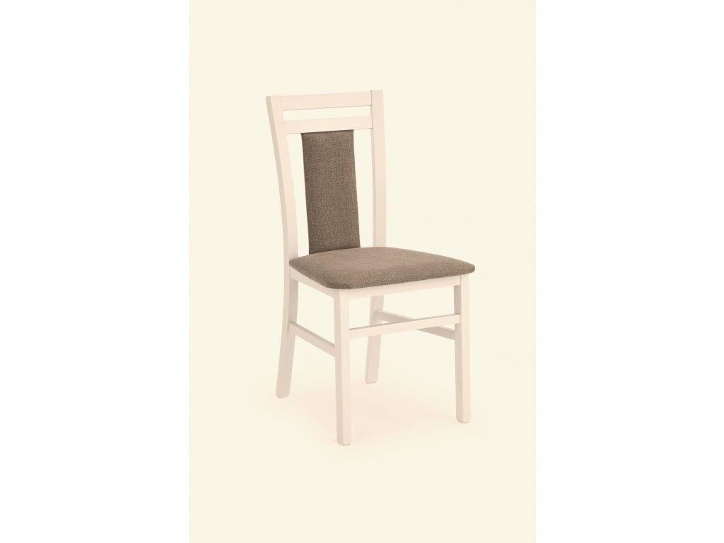 Hubert 8 židle bílá