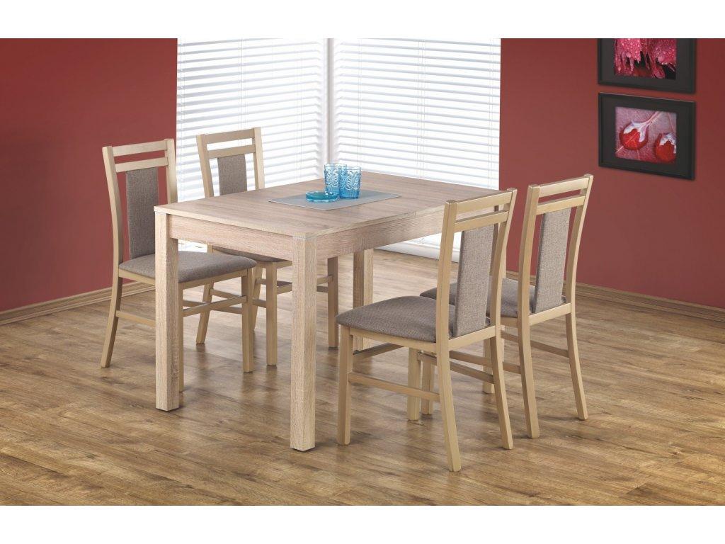 Maurycy jídelní stůl dub sonoma + 4 židle