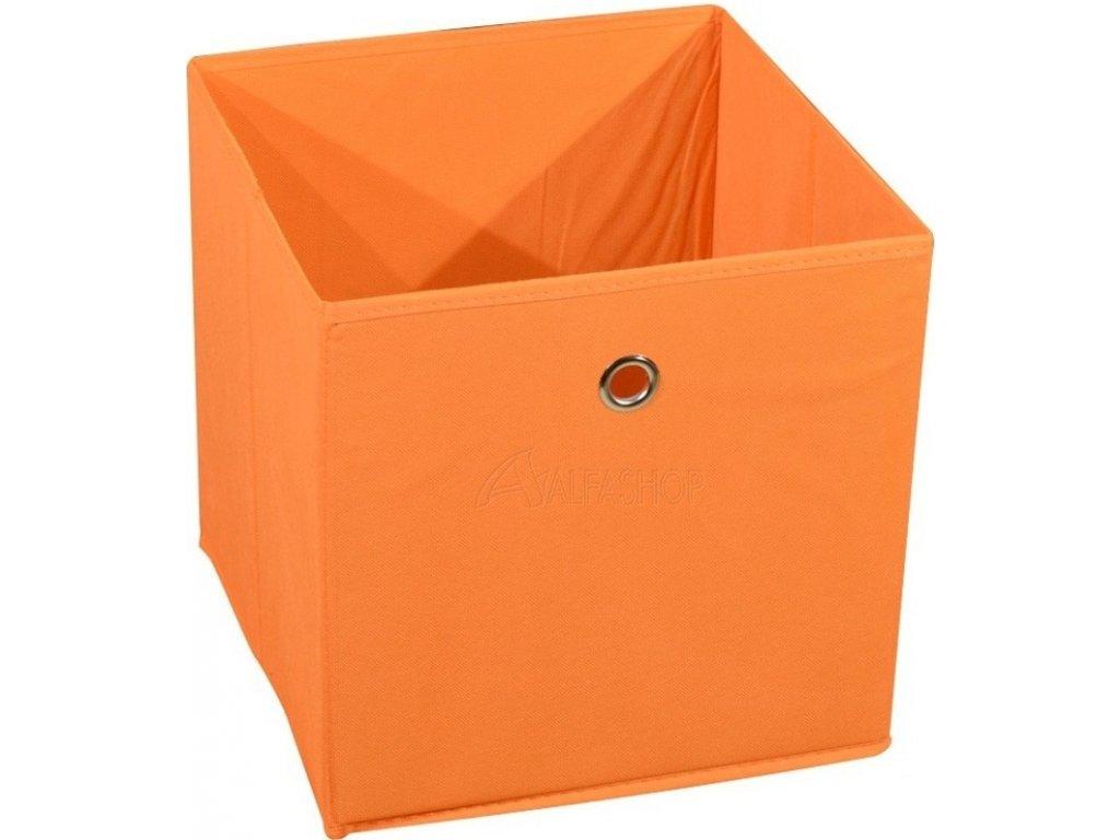 Látková zásuvka Winny oranžová