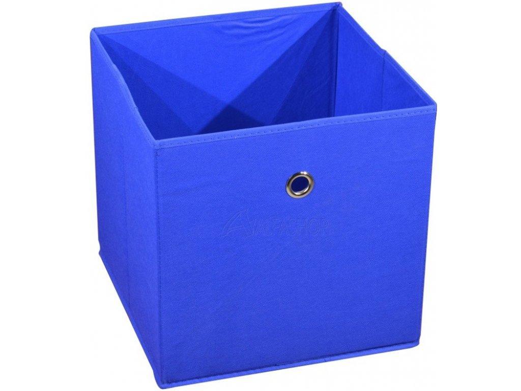 Látková zásuvka Winny modrá