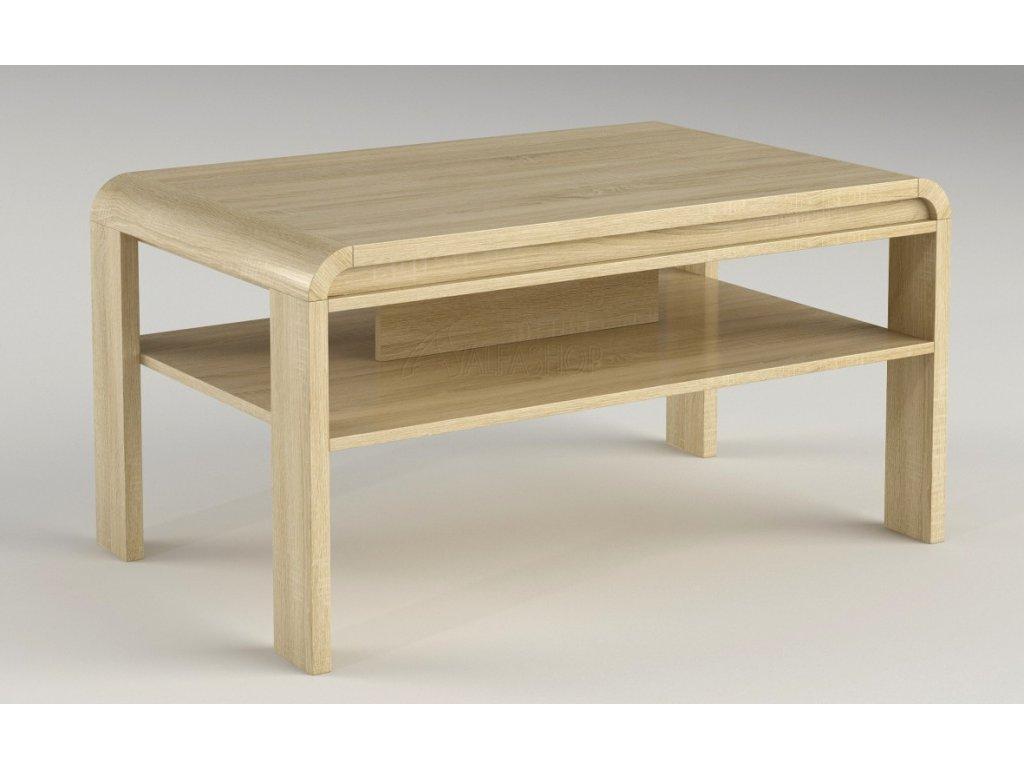 Projekt konferenční stolek dub sonoma