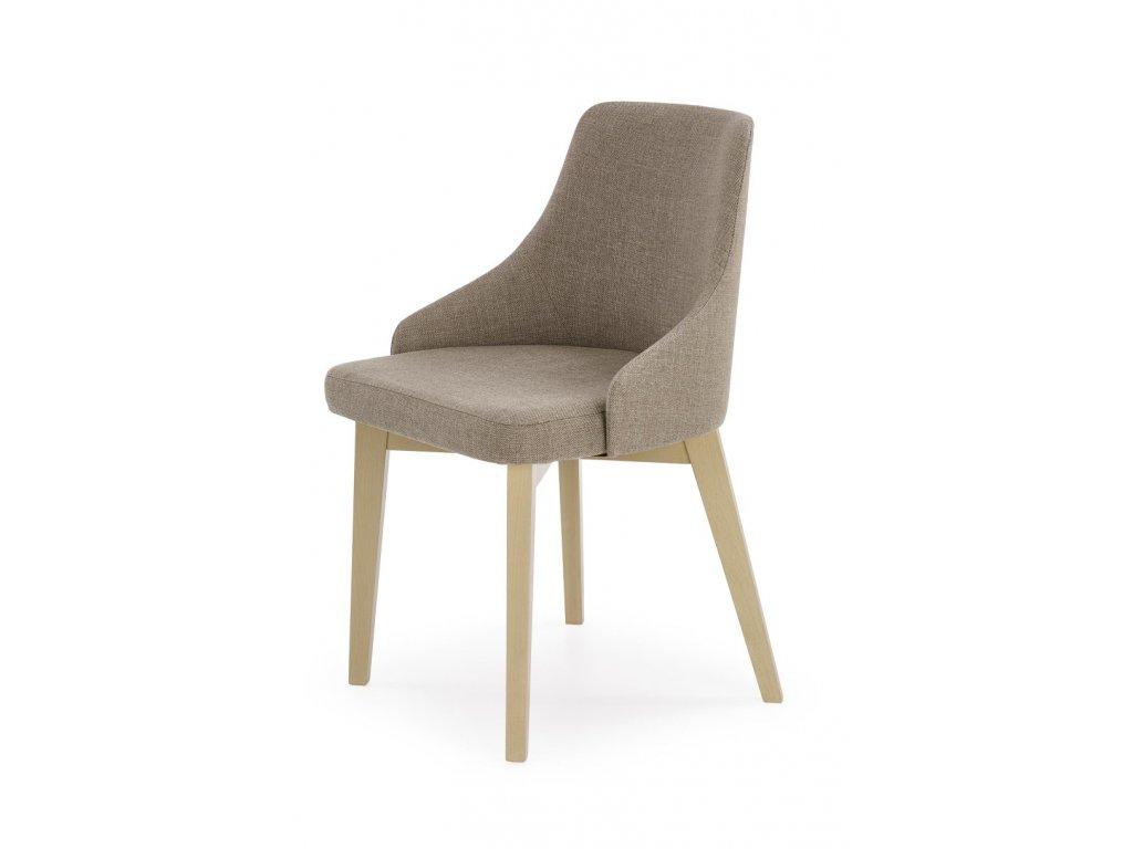Toledo židle světle hnědá - dub sonoma