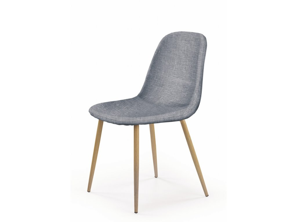 K220 židle šedá