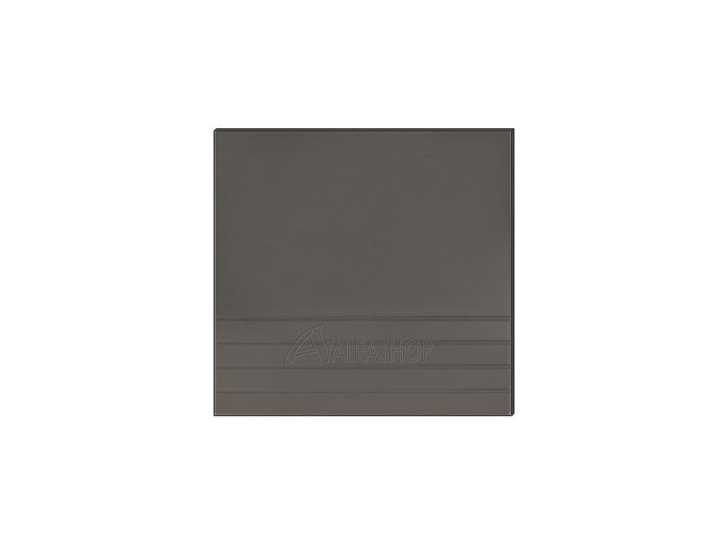 Paula šedá/mocca dvířka na myčku 60x57