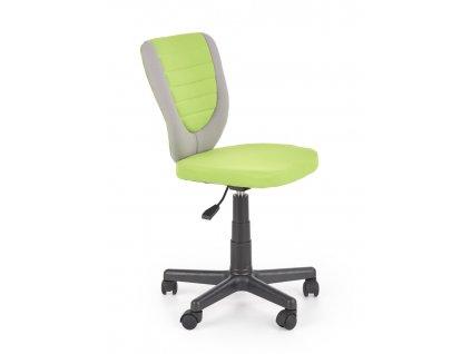 Toby dětská židle zelená