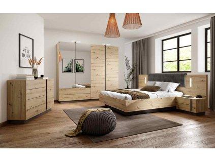 Arko ložnice dub artisan