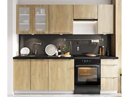 Kuchyně Zoya 240 dub