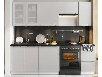 Kuchyně Zoya 240 šedá