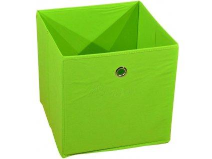 Látková zásuvka Winny zelená