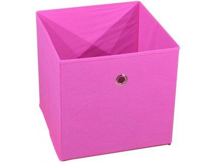 Látková zásuvka Winny růžová