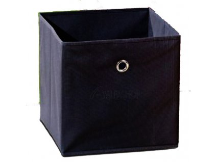 Látková zásuvka Winny černá