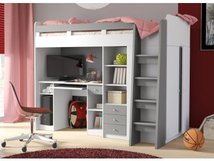 Dětská patrová postel Unit 3