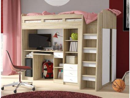 Dětská patrová postel Unit
