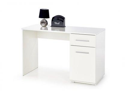 Limma-B1 psací stůl bílý
