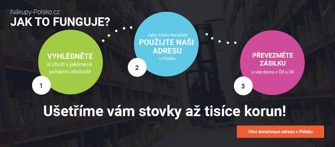 Nákupy v Polsku