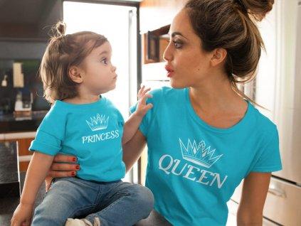 Rodinný set tyrkys Princess Queen